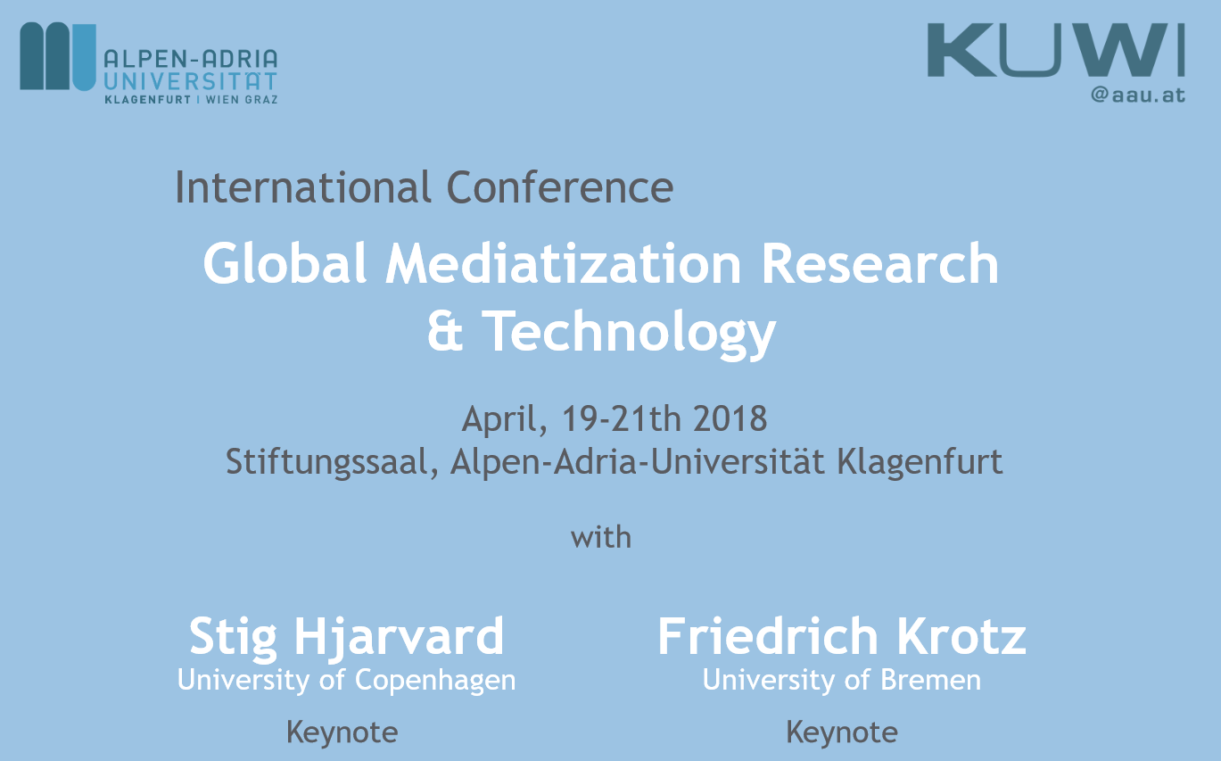 Global Mediatization Research Conference